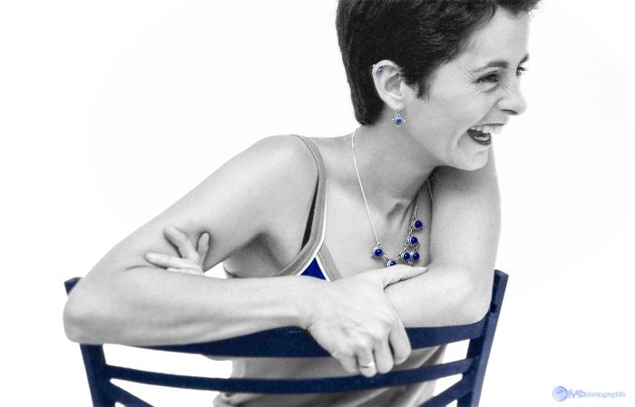 Geneviève et le bleu indigo