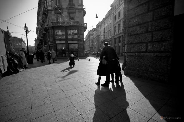 Photo de famille à Milan